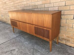 *SOLD* Mid Century Nordmende Sideboard Record Player/Radio Cabinet