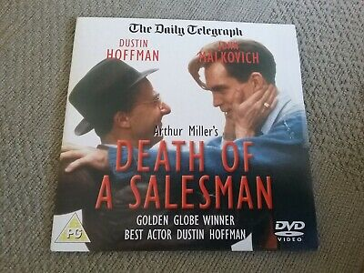 %  death of a salesman telegraph promo dvd  freepost in very good condition