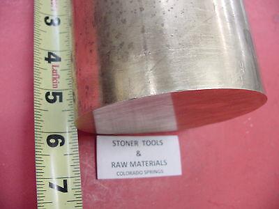 4 C360 Brass Round Rod 6 Long Solid 4.00 Od H02 Lathe Bar Stock Half Hard
