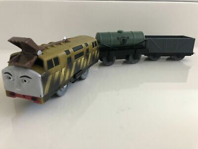 Motorized Diesel 10 Takes Charge Thomas & Friends Trackmaster COMPLETE Works EUC