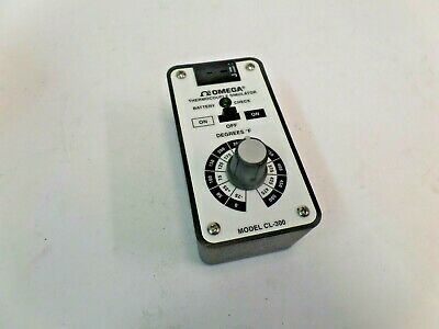 Omega Engineering Thermocouple Simulator Cl300-500f 73082-33