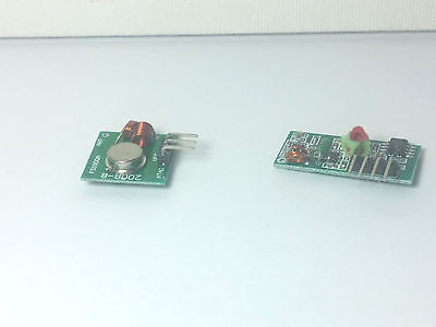 Arduino 433mhz Rf Transmitter And Receiver Remote Wireless Module Board