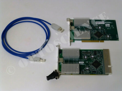 National Instruments PXI-8330 / PCI-8330 MXI-3 Interface Cards with Copper Cable