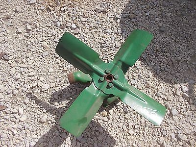 Oliver 66 Rowcrop Tractor White 244 Engine Motor Water Pump Assembly Fan Blade