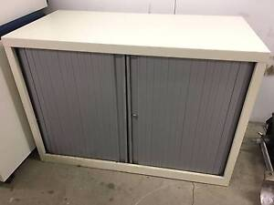 2 Shelved Filing Cabinet White McMahons Point North Sydney Area Preview