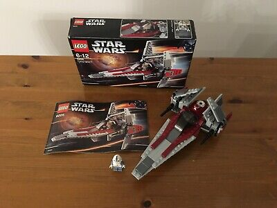Star Wars Lego 6205: V-Wing Fighter 100% Complete & Boxed