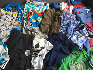 GUC Twin Baby Boy Clothing Lot (approx. 6M) 50+ pieces!