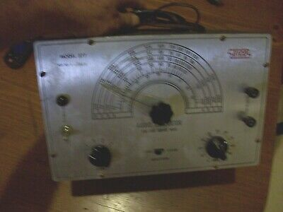 Vintage Audio Generator Sine Square Wave Model 377 Eicco
