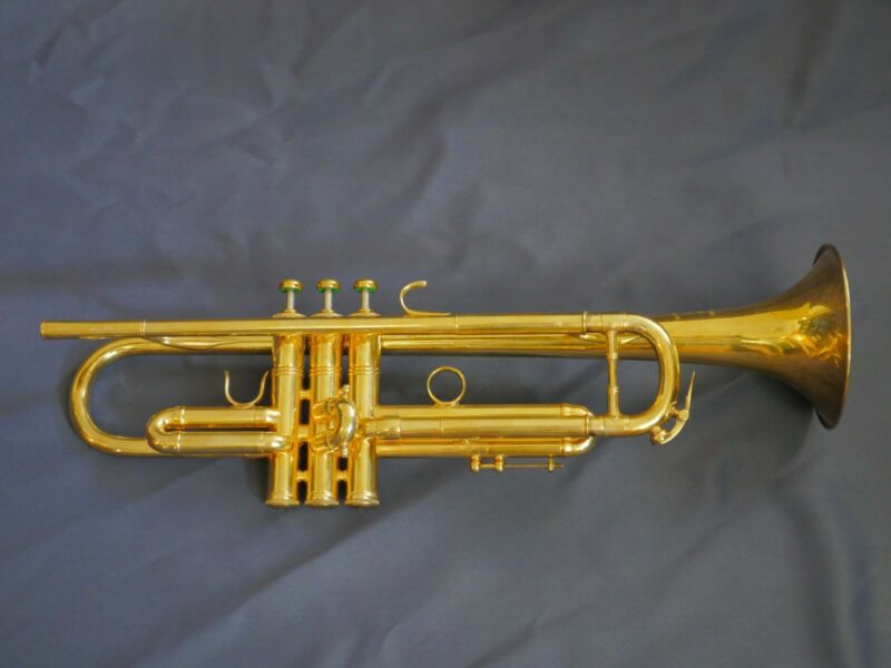 Gold Plated 1975 Benge 3x Trumpet