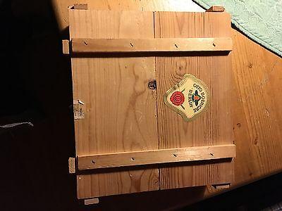 Otto Boeniicke Zigarrenkiste Holz