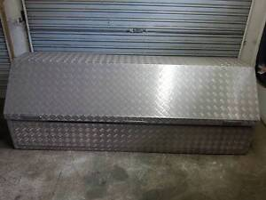 Aluminium checkerplate toolbox Barrack Heights Shellharbour Area Preview