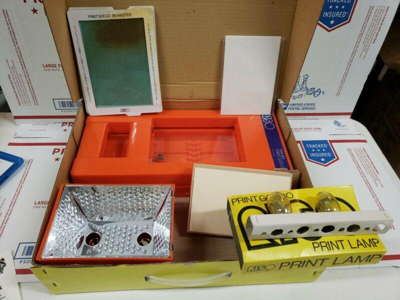 Riso Print Gocco B6  Mesh Set Screen Printing *USED*