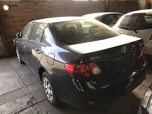 Wrecking Toyota corolla 2008 sedan Campbellfield Hume Area Preview