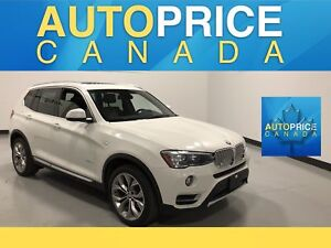 2016 BMW X3 xDrive28i NAVIGATION|PANOROOF|LEATHER