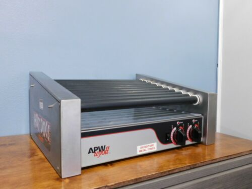 APW Wyott HRS-30S Commercial Hot Dog Roller Grill Works Great