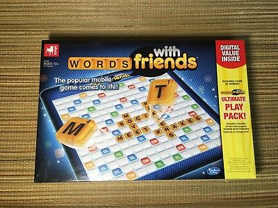 Words With Friends Luxe Board Game Scrabble Style Ultimate Play Pack Inside