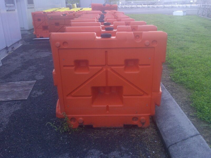 Jersey Plastic Road Barriers - Assorted Sizes 6