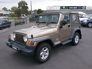 2004 Jeep Wrangler Renegade 4x4 Ferntree Gully Knox Area Preview