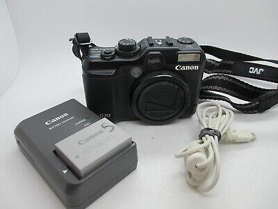 Canon Powershot G10 14.7MP 3'' Screen 5x Zoom Digital Camera - Black