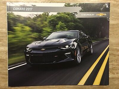2017 CHEVY CAMARO 38-page Original Sales Brochure