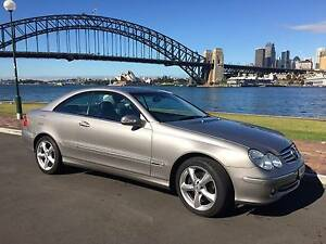 2005 Mercedes-Benz CLK240 Coupe Milsons Point North Sydney Area Preview