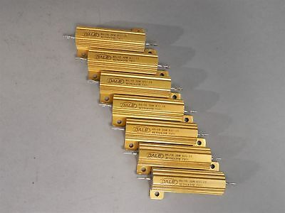 Lot Of 7 Dale Power Resistor Rh-50 30w 43 - New