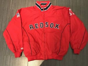 Authentic Boston Red Sox Dugout Baseball Jacket