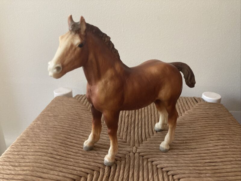 Vintage Breyer Horse ~ Clydesdale ~ Good Condition