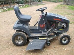 LAWNBOSS A14015G 15.5 HP RIDE ON MOWER Yea Murrindindi Area Preview