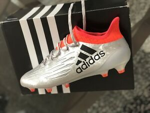 cebaa9ec6 adidas Men s X 16.1 FG Outdoor Soccer Cleats - Silver Orange