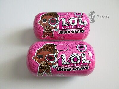 LOL Surprise Dolls Under Wraps Series 4 Wave 2 Eye Spy Lot of 2x Brand New Packs