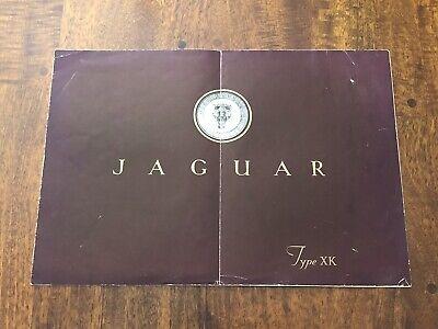 Vintage Original 1948 1949 Jaguar XK120 Super Sport Sales Brochure Catalog