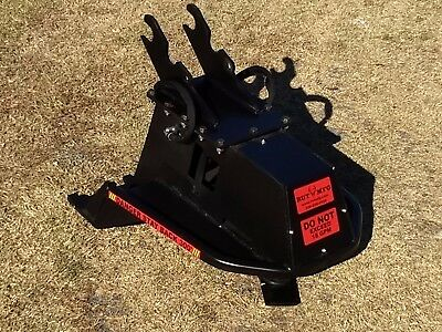 "36"" Tree Slayer Mini EXCAVATOR BRUSH CUTTER, MOWER, MULCHER USA made, SHIPS FREE"