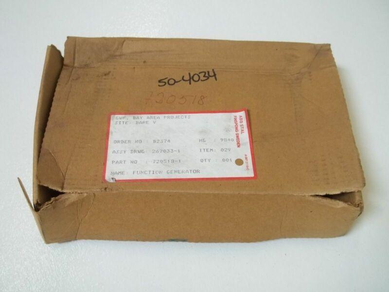 ABB STAL 720518-1 FUNCTION GENERATOR *NEW IN BOX*