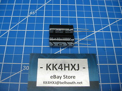 10000uf 16v Radial - Electrolytic Capacitors - Sc Brand - Km Series - 2 Pieces
