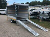 ⭐️ Eduard Auto Transporter 1350 kg 256x150x160 cm Rampen Plane 56 Brandenburg - Schöneiche bei Berlin Vorschau