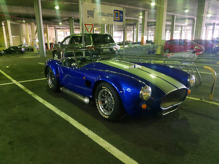Ford ac cobra kit car.