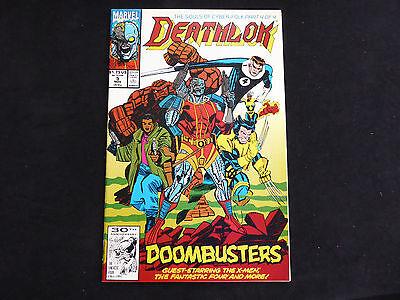 Deathlok #5 (Nov 1991 Marvel)