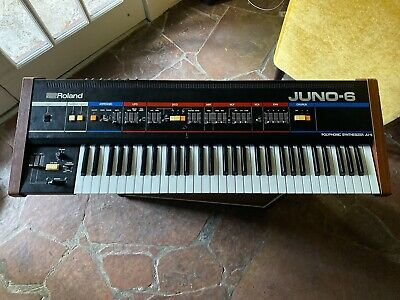 Roland Juno-6 Polyphonic Synthesizer - Vintage - Working Condition
