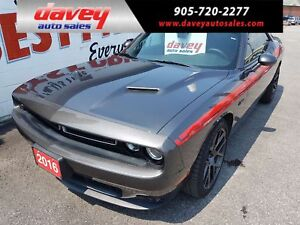 2016 Dodge Challenger R/T BACK UP CAMERA, REVERSE SENSORS, NA...