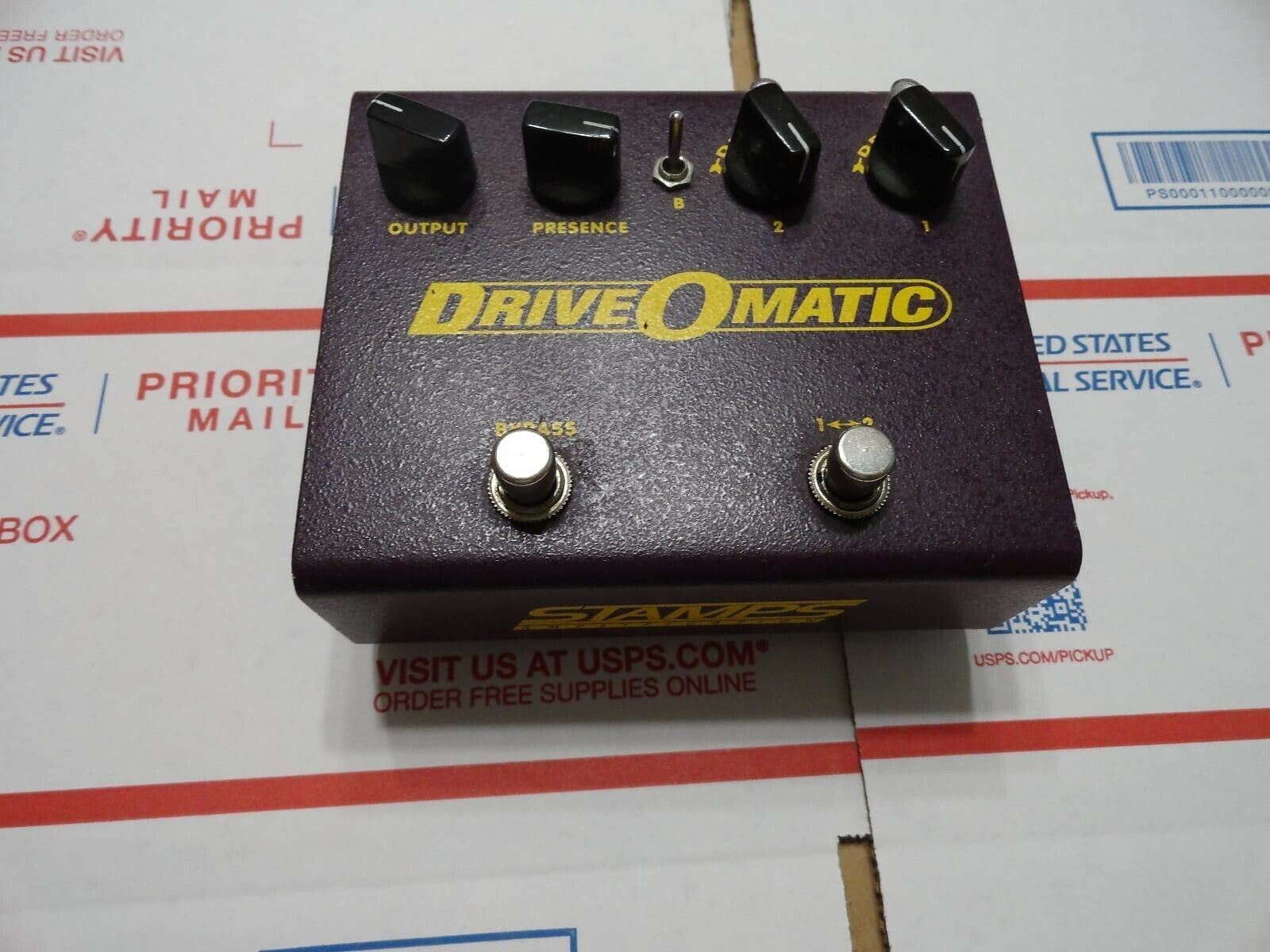 Stamps DriveOMatic Distortion Pedal - $70.00