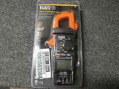 New Klein Tools 600 Amp Acdc True Rms Auto-ranging Digital Clamp Meter Cl800