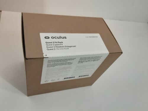 Oculus Quest 2 Fit Pack - Two Alternate-Width Facial Interfaces NIB New Sealed