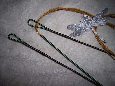 """Bowstring Recurve AMO 64/""""Actual 60/"""" New colors//buckskin,green,brown bow string"""