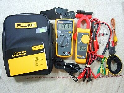 Fluke 116323 Hvac Kit With Accessories Fluke Case - 15647-15648.