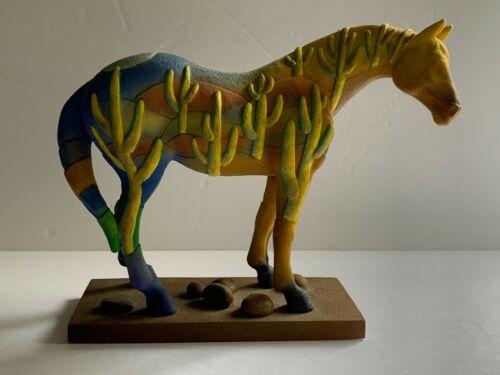 Trail of Painted Ponies 2005 Saguaro Stallion 1E/2686 Retired 01/06 #1523 No Box