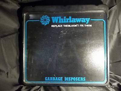 Rare Whirlaway Garbage Disposers Lighted Advertising Store Display Tested Works