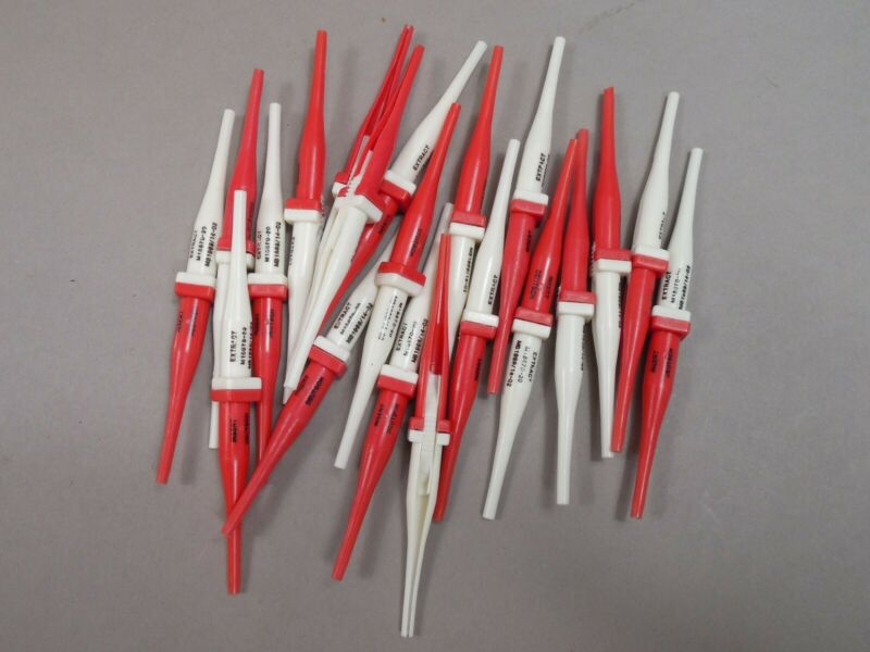 Lot of 20 Cannon Bendix Deutsch Matrix M15570-20 Insert Extract Tools NEW
