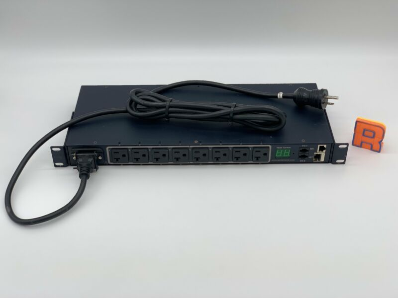 Server Technology CW-8H1-C20M Sentry Switched Cabinet Dist. Unit, 8 Outlets (Use