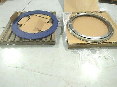 Lantech Ina F-588381 Pallet Turn Table Slew Bearing And 30191188 Adapter Plates